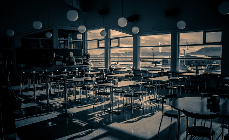 'Silent cafeteria' at The Royal Photographic Society (UK)