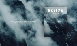 Article and photos featured in BESIDE vol 1