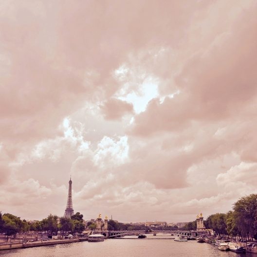 Paris skies
