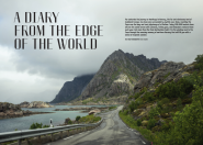 'Diary from the Edge of the World' article and photos featured in Oal vol. 2