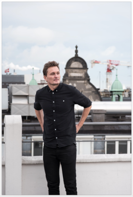 Portrait of Muuto founder Kristian Byrge for RUM, April 2015