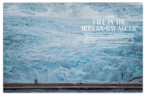 Article and photos on Svalbard, featured in Oak vol 4, 2015